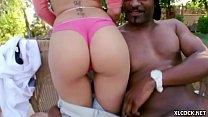 Riley Reid interracial image