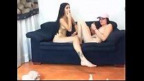 Naughty girls sucking on cam Thumbnail