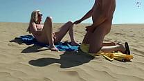 Nudist Voyeur Injects Me Full!
