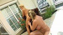 Fist Flush presents Clara G and Mandy Bright in a lesbian fisting scene thumbnail