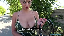 19416 Public Agent Busty crazy MILF in hot sloppy blowjob and public fuck preview