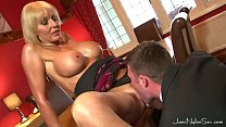 Wedding Day Cheating Wife get all horny when she sees a hot young stud