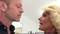 Lovely Euro blonde MILF Dyana gets pounded hard...