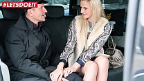 LETSDOEIT - Horny Teen Katie Sky Tricked Into Sex By Czech Taxi Driver