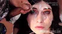 Premium Bukkake - Sheril Blossom swallows 70 bi... Thumbnail