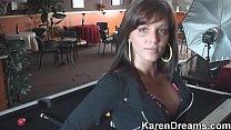 Karen Dreams Po ol Table