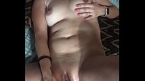 Sexy Wife Playing With A Dp Toy