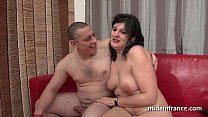 Anal casting of an Amateur french couple with a chubby squirt slut hard plugged pornhub video