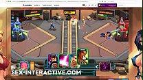 Vixen Clash Gameplay Strategy Game Nutaku Gold video