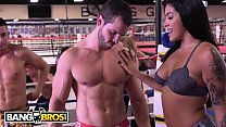 BANGBROS - Working Out With Rose Monroe, Holly ... Thumbnail