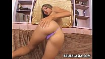 Asian Couple In A Rough Anal Sex Action