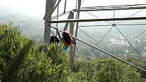 Felicity Feline ass and climbing towers in los ... thumb