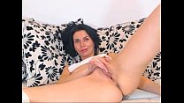 webcam european Russian MILF slowly plays with ...