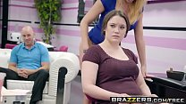 Brazzers - Pornstars Like it Big -  Getting Their Own Facials scene starring Ariana Marie, Britney A Image