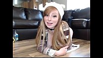 Cute May Marmalade Rubs Pussy on Cam