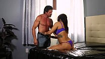 Stepdad and uncle got invited by Keisha Grey - Fantasy Massage image