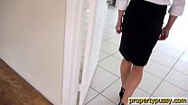 Hot property manager seduces her boss in an empty house - 9Club.Top