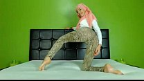 11901 Sexy Arab Hijab girl twerking ass on cam - See more at EliteArabCams.com preview