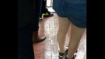 Big booty in Disneyland