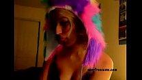 Blonde Chick Teasing On a Webcam - SexyFreeCamz.com