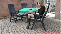 Best Mom Flashing in Boots Stockings. See pt2 at goddessheelsonline.co.uk preview image