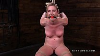 Gagged hogtied slave pussy vibed Preview