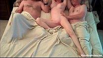 Exhausting Threesome For Amateur Grannie Vorschaubild