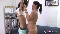 17060 Filipe's best waking material are Montse's videos. Today, he's banging her ;) preview
