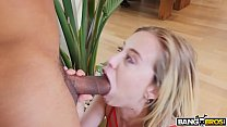 BANGBROS - Haley Reed Takes a Big Black Cock Behind Her Dad's Back Image