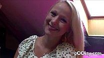 super fat chick - blonde au gros cul bien flexible et salope (amateur) thumbnail