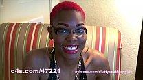 Ebony stripper Doll twerk and dildo play tumblr xxx video