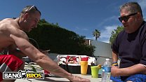BANGBROS - Petite Teen Alaina Dawson Gets Some Dick From Daddy's Friend image