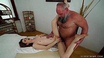 Screenshot Older Man Fucks  Her Younger Massage Client ssage Client