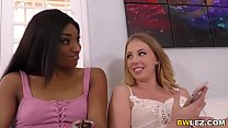 Chloe Scott and Sizi Sev Interracial Lesbian