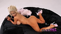 Nicolette Shea,Nina Elle,Victoria June - The Bean Bag's Thumb