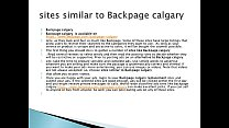 calgary & Backpage Calgary is now www.bedpage.com/backpage thumbnail