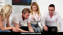 FamilyStrokes - Family Game Night Orgy (Alina West)