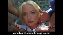 Screenshot Schoolgirl Chokes On Orgy Cocks
