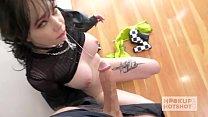 Skinny pale teen Leda Elizabeth gets banged hard by Hookup Hotshot thumbnail