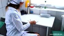 Nurse on gyno chair - 69VClub.Com