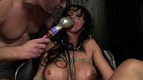 Under total domination. Humiliated bitch mouth fucked and screwed painfully in her all holes.BDSM movie.Hardcore bondage sex. pornhub video