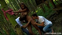 Outdoor threesome pleasuring Vorschaubild