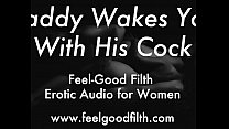 DDLG Role Play: Woken Up & Fucked By Daddy (fee