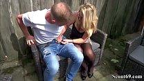 German Big Tit MILF Get Fucked by Big Dick User in AO Vorschaubild