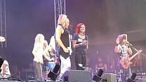 Flashing Boobs On Stage