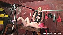 15126 Lesbian spanish slavegirls sexual submission and hardcore bdsm of Lola by stern preview