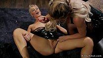 Lesbian dominatrix makes subs anal fuck pornhub video
