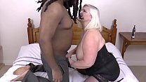 Bbw Granny With  Extreme Boobs Handling Fat Bl Handling Fat Black Rod