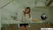 VIXEN Hot assistant Carter Cruise Lets her Boss Do Whatever he Wants to her thumbnail