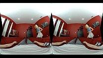 WankzVR - Saint to Sinner ft. Jessie Saint's Thumb